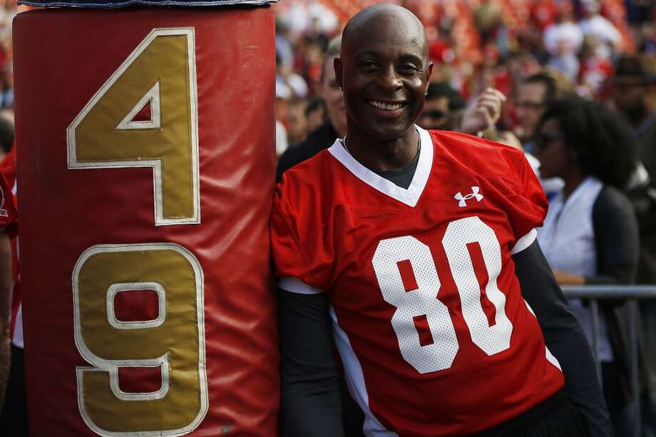 Former 49ers wide receiver Jerry Rice Photo: Stephen Lam, Special To The Chronicle