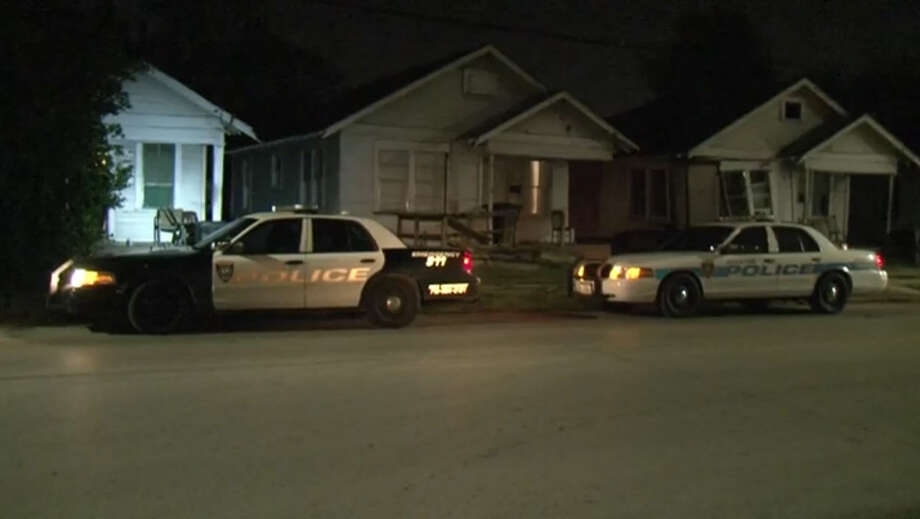 A man was wounded in a shooting Monday night at a home in northeast Houston. Photo: Metro Video