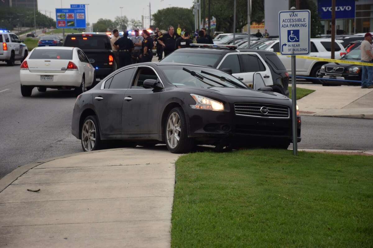 Police have arrested three people following a chase through Alamo Heights that began with an armed robbery on Tuesday, May 17, 2016.