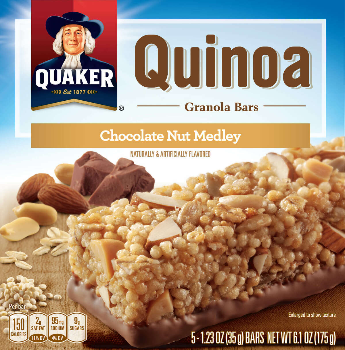The Quaker Oats Company, a subsidiary of PepsiCo, Inc., has announced a voluntary recall of a small quantity of Quaker Quinoa Granola Bars after an ingredient supplier was found to have distributed sunflower kernels that may be contaminated with Listeria monocytogenes