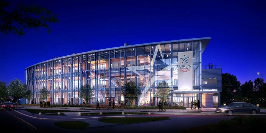 Lone Star College-University Park broke ground recently on a $15.4 million science center. Lone Star College-University Park broke ground recently on a $15.4 million science center.