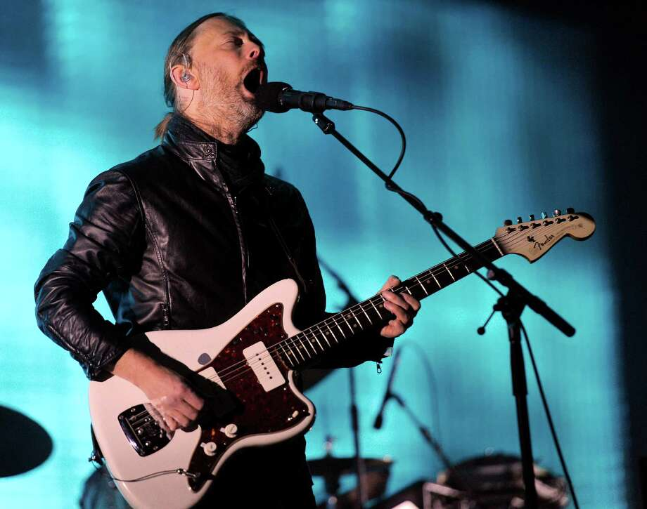 Thom Yorke of Radiohead Photo: Chris Pizzello, STF / AP2012