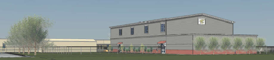Aristoi Classical Academy plans to build a multipurpose building and gymnasium at 5610 Morton Ranch Road.