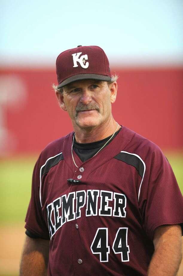 Fort Bend Kempner visited Fort Bend Travis for a baseball game, 4-26-13. Kempner varsity baseball coach  Marc Jones. Photo: Eddy Matchette, Freelance / Freelance
