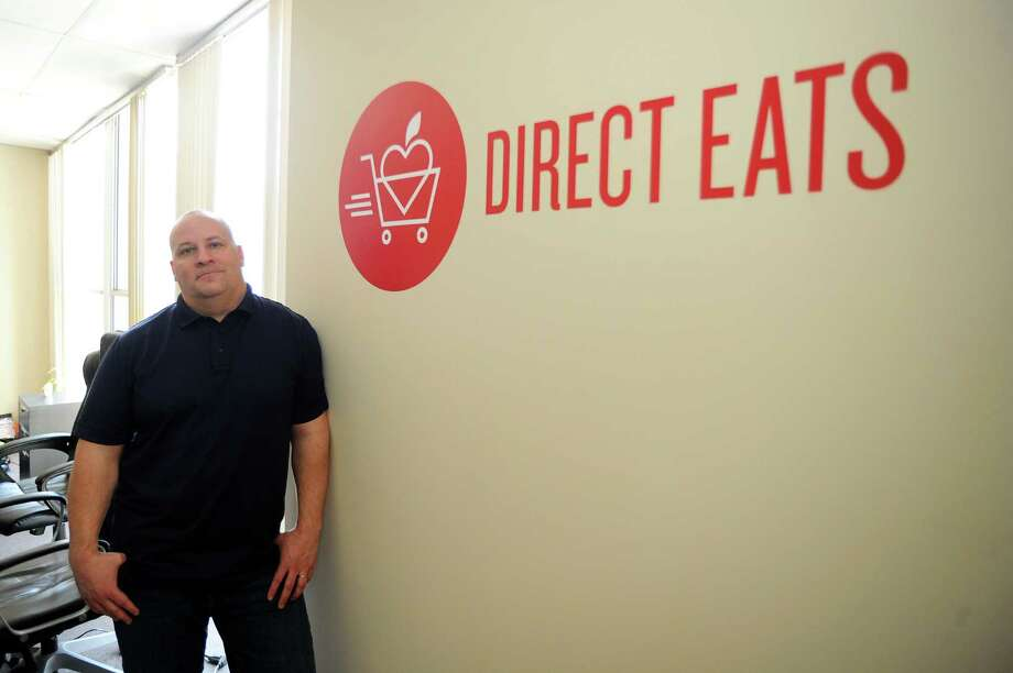 Direct Easts CEO David Hack at the company's Wilton offices in March 2016. Photo: Michael Cummo / Hearst Connecticut Media / Stamford Advocate