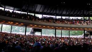 SPAC Insider Tip: Try sitting on the left side of the amphitheater for pianists? performances to see their hands as they play. The balcony or middle rows of the amphitheater are best for orchestra performances as they have the best acoustics. If you?ve made last-minute plans, lawns seats can be a fun and more relaxing way to enjoy a show. (Dan Little/Special to the Times Union)