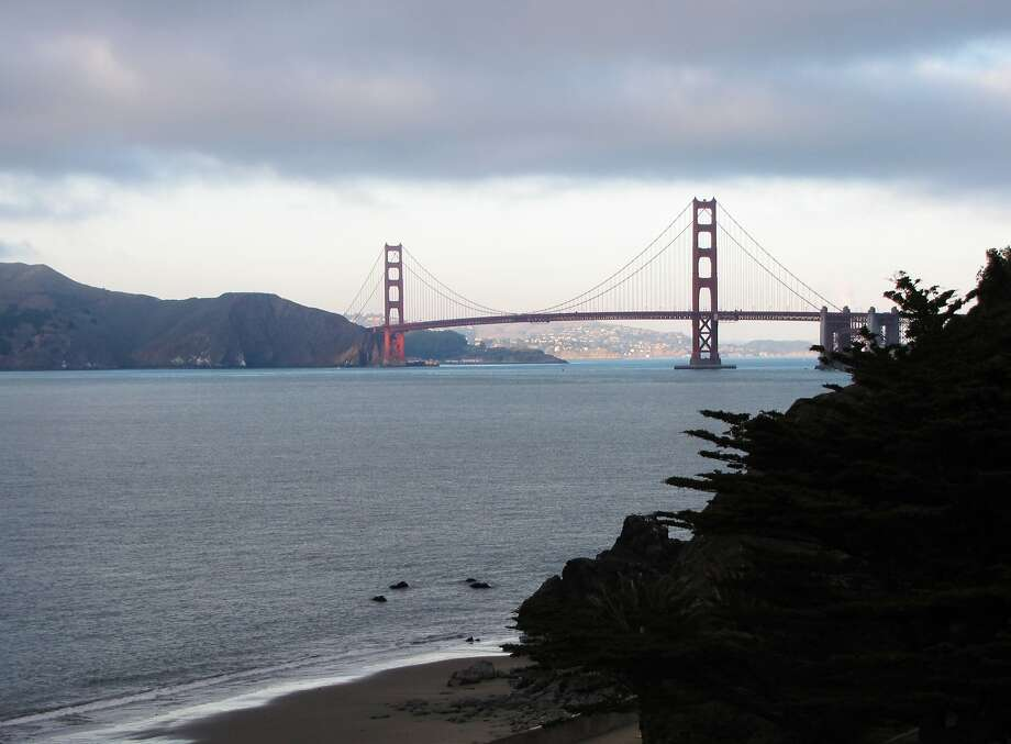 A homeless man was rescued from a sheer cliff near China Beach. Photo: Stephanie Wright Hession