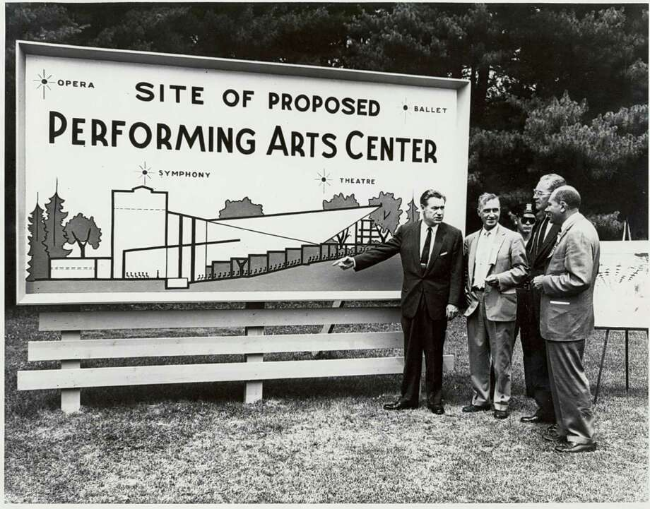 Click through the slideshow to view photos from SPAC through the years. Proposed site of Saratoga Performing Arts Center with Gov. Rockerfeller June 30, 1962. Check back next week for more archive photos from SPAC. (Courtesy SPAC)