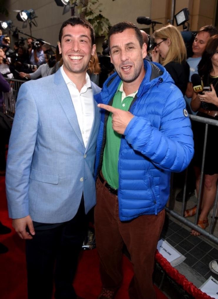 Adam Sandler invites doppelganger to movie premiere after Reddit