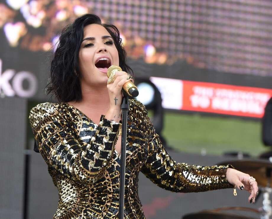 Demi Lovato is empowering fans on tour.She's not the only brave celeb to speak out. Take a look at others who have a history of depression or anxiety disorders.