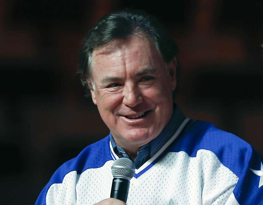 "FILE - In this Feb. 21, 2015, file photo, Jim Craig, of the 1980 U.S. ice hockey team, speaks during a ""Relive the Miracle"" reunion at Herb Brooks Arena in Lake Placid, N.Y. Craig is parting with his most prized items from one of the greatest sporting moments of the 20th century. Estimated to bring between $5 million and $7 million, 17 items are being offered through the online auction house Lelands.com. The sale went live Tuesday, May 17, 2016,  and ends June 17. (AP Photo/Mike Groll) Photo: Mike Groll, Associated Press"