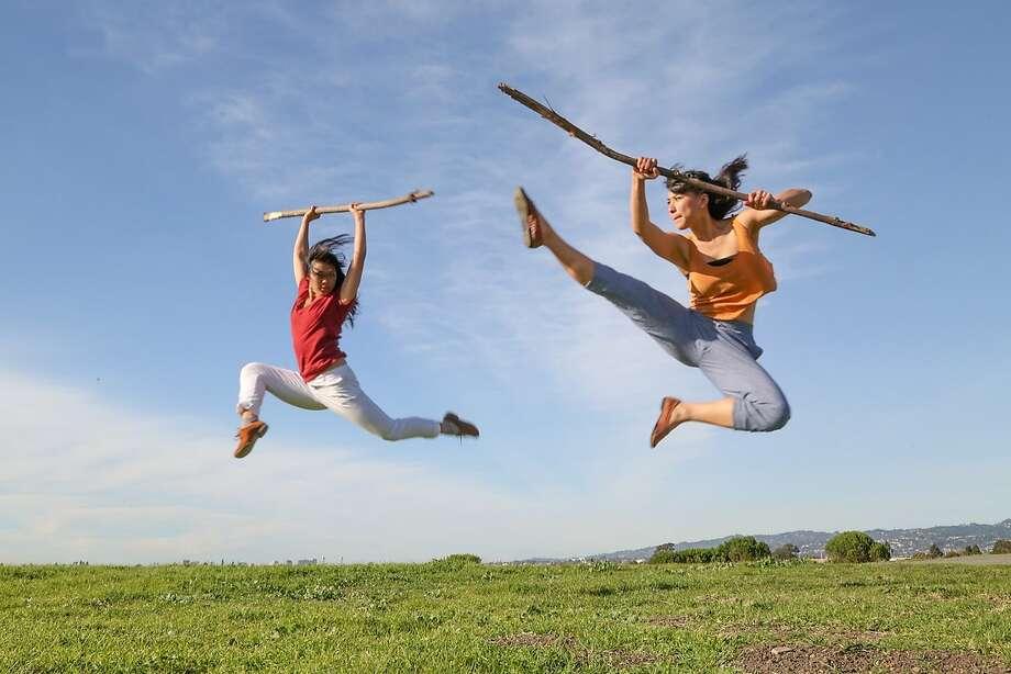 "Sarah Bush Dance Project presents ""This Land: Oakland."" Photo: Lisa Harding"