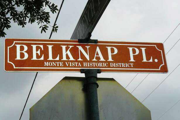 Belknap Place is in the Monte Vista Historic District.