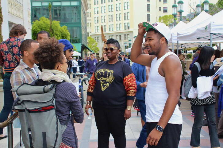 Last year's Oakland Book Festival drew thousands of participants, filling the city center for listening and discussion.
