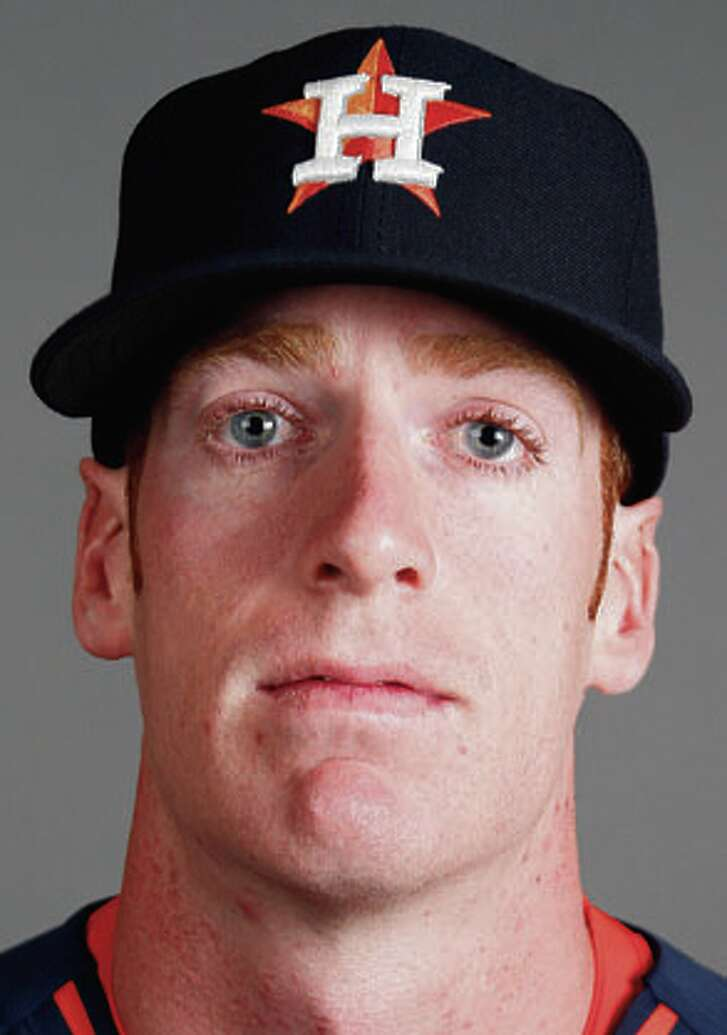 Houston Astros infielder Colin Moran photographed during Houston Astros spring training at the Osceola County facility, Thursday, Feb. 26, 2015, in Kissimmee. ( Karen Warren / Houston Chronicle  )
