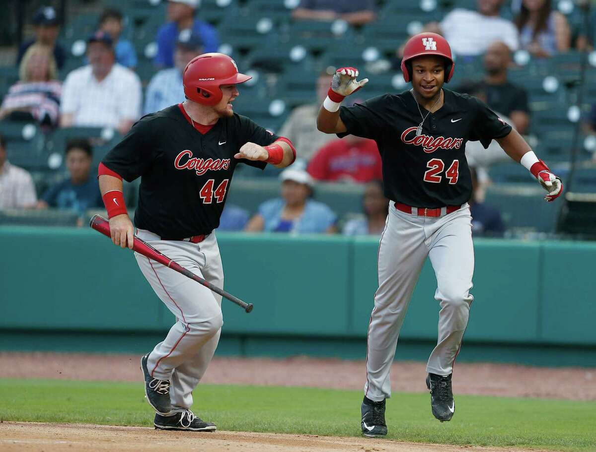 Joe Davis (44) and Corey Julks were among the standouts from the 2010s for the UH baseball team.
