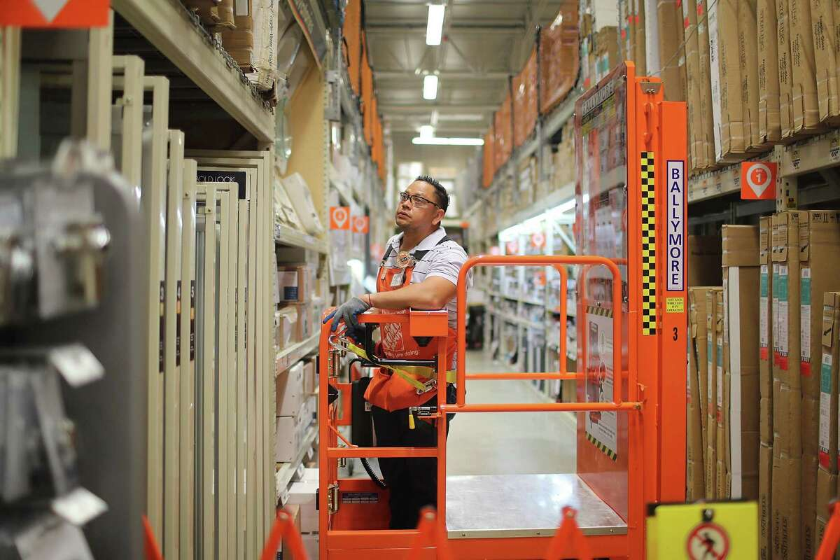 Home Depot is ramping up for the busy spring selling season and is looking to hire 1,800 employees in the Houston area.