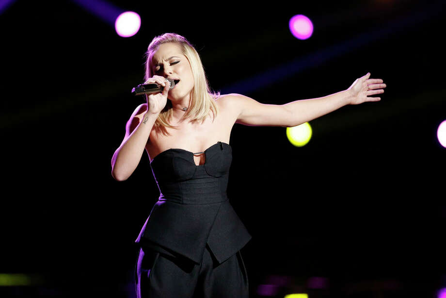 """THE VOICE -- """"Live Semi Finals"""" Episode 1017B -- Pictured: Mary Sarah -- (Photo by: Tyler Golden/NBC) Photo: NBC, Tyler Golden/NBC / 2016 NBCUniversal Media, LLC"""