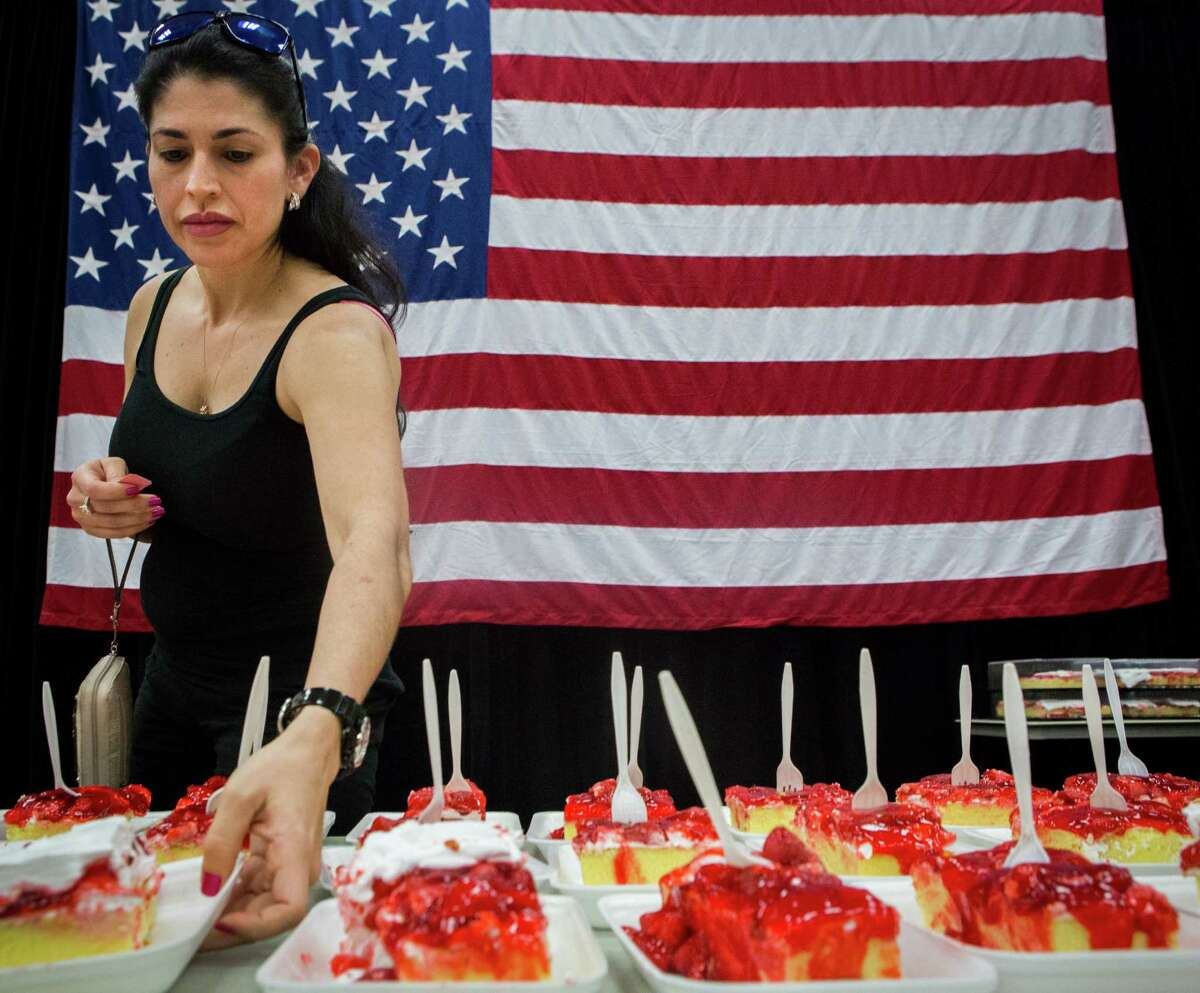"""PHOTOS: Small town festivals devoted to food in the state of Texas The """"World's Largest Strawberry Shortcake"""" is one of the most delicious highlights during the annual Pasadena Strawberry Festival. This year it kicks off on May 18. Click through to learn about other small town food festivals across Texas..."""