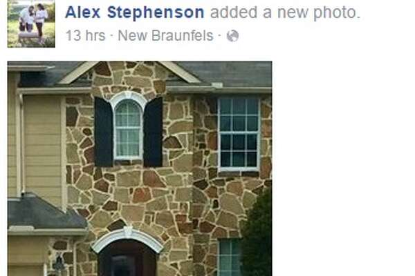 "Facebook user, Alex Stephenson, shared photos of Emilio Navaira's New Braunfels home on May 17, 2016 showing what many are speculating is an apparition of the late star ""guarding his house and family,"" the post said."