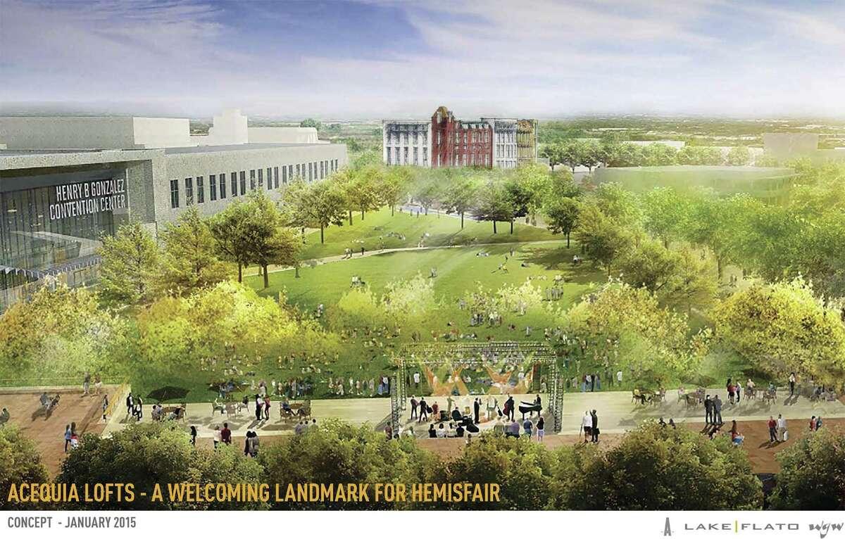 Mixed-Use Development at Hemisfair$200 million