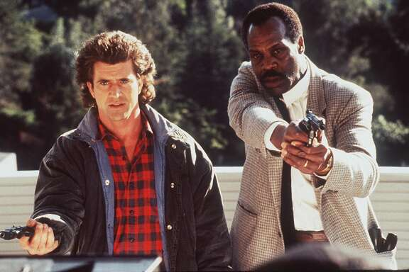 """Mel Gibson, left, and Danny Glover star in """"Lethal Weapon."""""""
