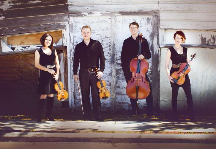 The Apollo Chamber Players include, from left, Anabel Ramirez, Matthew Detrick, Matthew Dudzik and Whitney Bullock.
