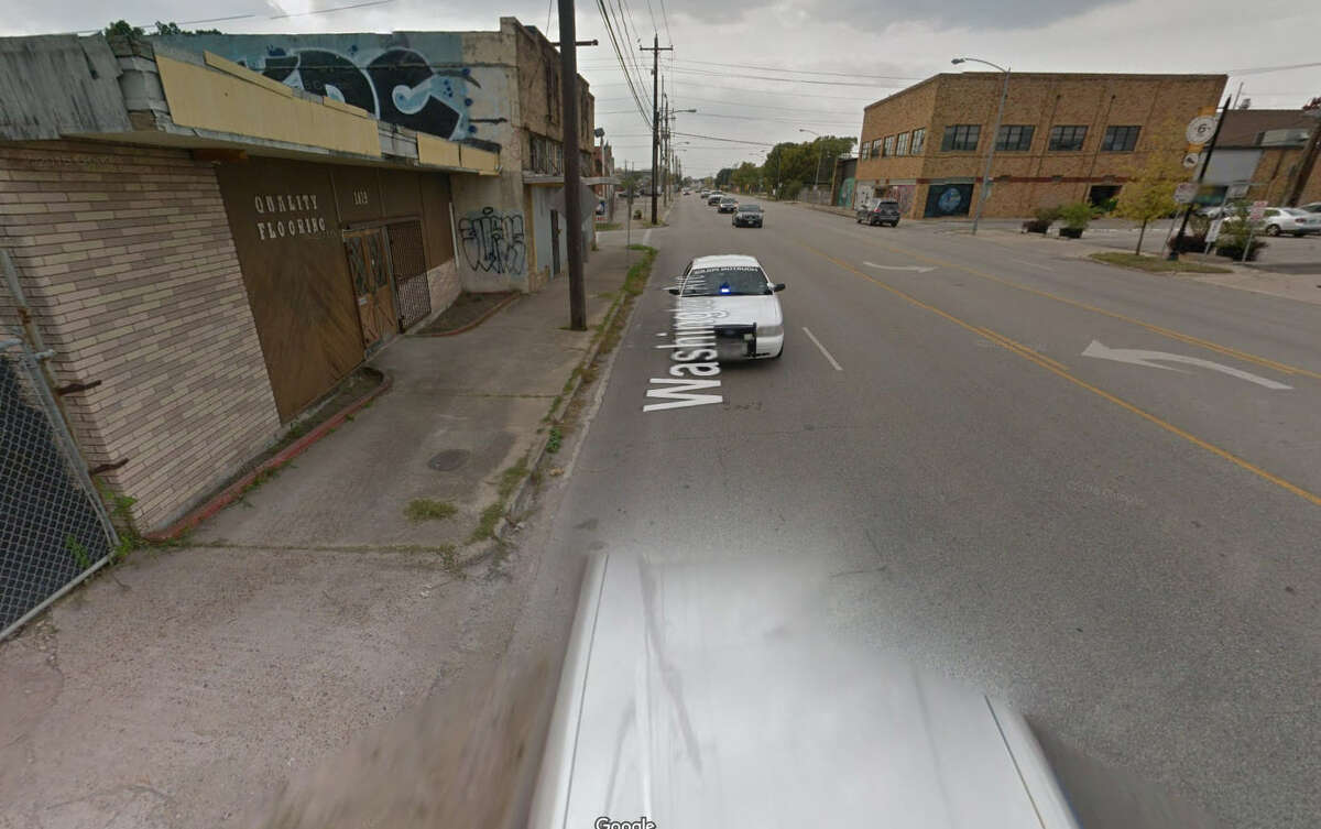 It appears the Google Car was pulled over on Houston's Washington Avenue sometime in October 2015, and the car caught photos of the whole thing. But that's not the weirdest things we've seen on Google Maps.