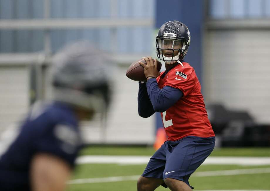 QUARTERBACK (2) Russell WilsonTrevone Boykin*Notes: If the team brings back veteran backup Tarvaris Jackson on his fourth straight one-year deal, I can see them going with him on the active roster and trying to sneak Boykin (above) through waivers and onto the practice squad for the 2016 season. Until he joins the team, however, the rookie out of TCU is my pick to be Wilson's primary backup. Photo: AP