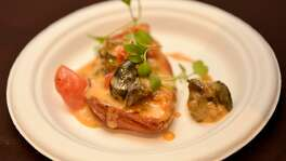 """Escargot """"Basque Style"""" from the Fig Tree was a culinary star at the Express-News Top 100 Dining and Drinks event."""