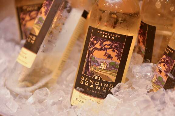 Comfortage from Bending Branch Winery on ice