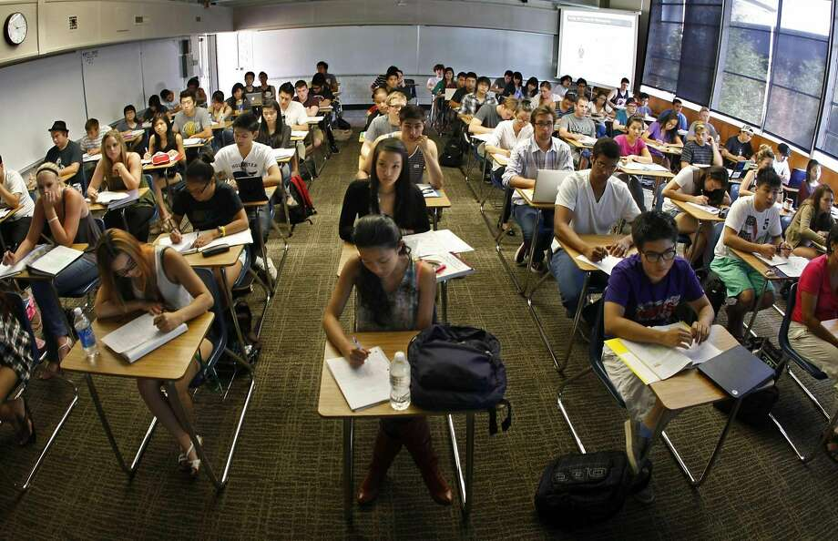 America's system of higher education would be better served if national rankings rewarded schools that accept more Americans rather than heaping more praise on schools that routinely exclude Americans. Photo: Don Bartletti / McClatchy-Tribune News Service 2011