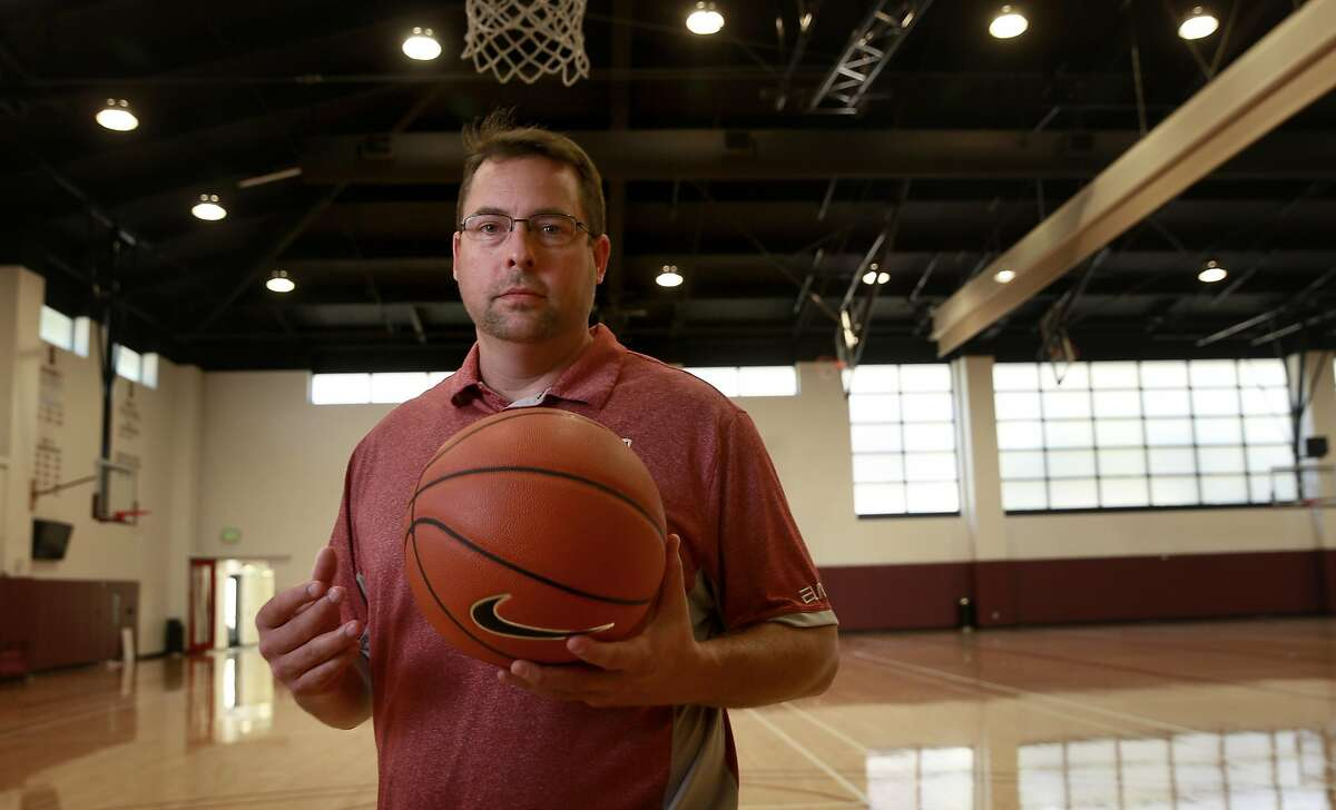 Jerod Haase, in Stanford , California, on Wed. May 18, 2016, has been named the new men's basketball coach of the Stanford Cardinal.