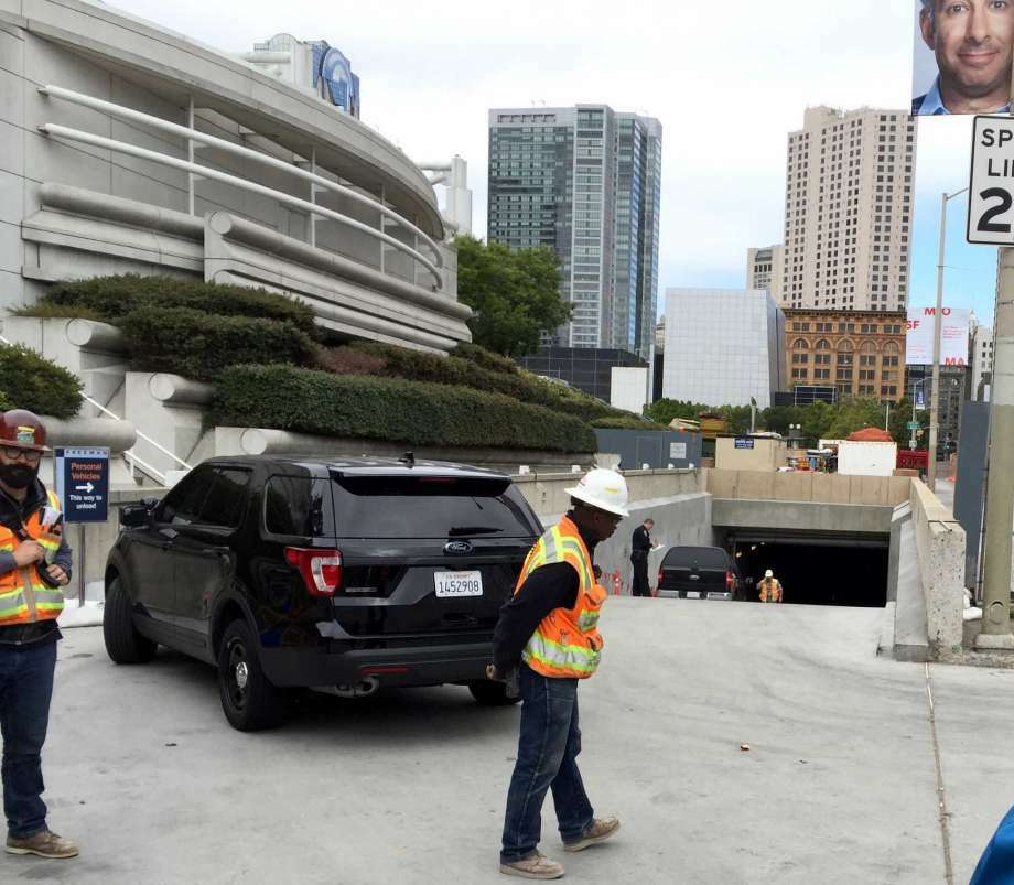 A construction worker killed at Moscone Center Friday morning while operating a cherry picker was identified Wednesday as 61-year-old San Francisco resident Gustavo Acevedo. Photo: Steve Rubenstein / The Chronicle / /