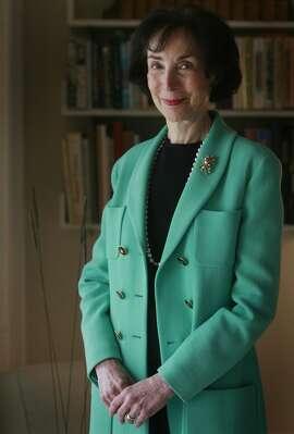 Merla Zellerbach poses in San Francisco, Calif. on Wednesday, November 12, 2008