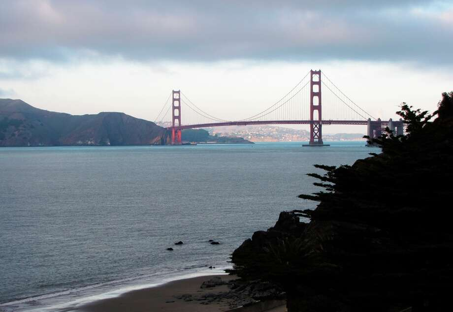 Stunning views of the Golden Gate Bridge are found at several Lands End spots, including China Beach. Photo: Stephanie Wright Hession / Stephanie Wright Hession / Special To The Chronicle