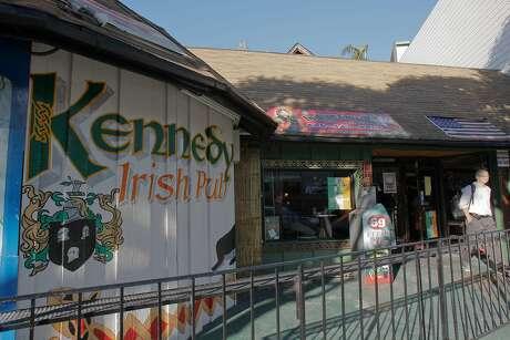 Kennedy's Irish Pub is located at 1040 Columbus Ave, San Francisco, Calif.