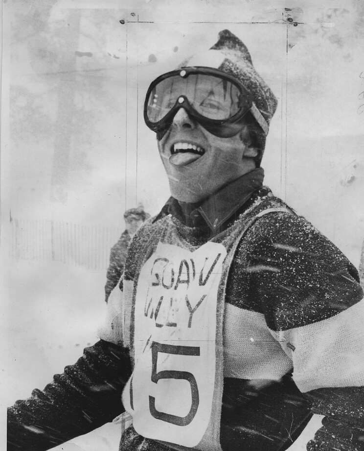 Billy Kidd during  the World Cup ski championship at Squaw Valley,   Photo ran 03/04/1969. p. 48 Photo: Bill Young, The Chronicle