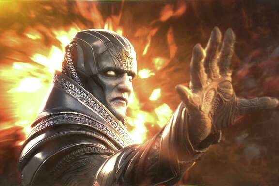 """Apocalypse (Oscar Isaac), the original and most powerful mutant, embarks on a path of global destruction in """"X-Men: Apocalypse."""""""