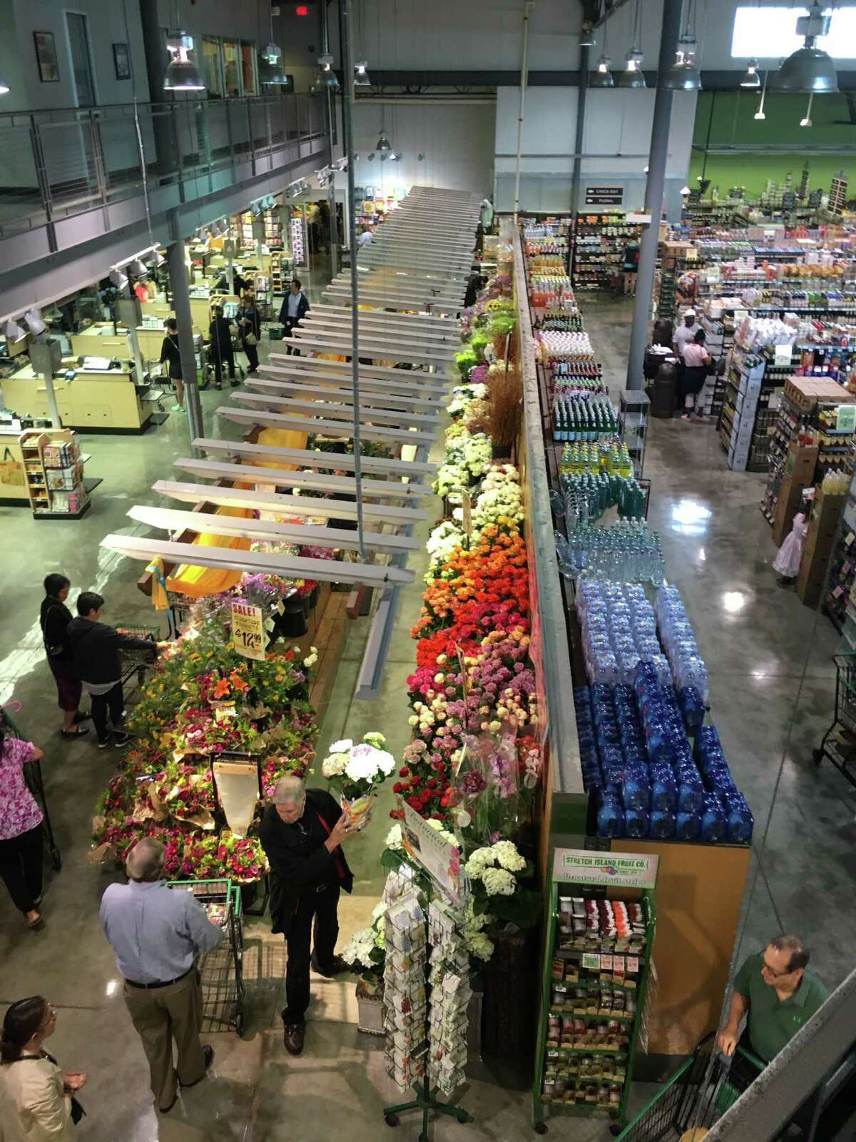 H-E-B's Stephen Butt says the Houston Central Market is one of the strongest of the nine in Texas.