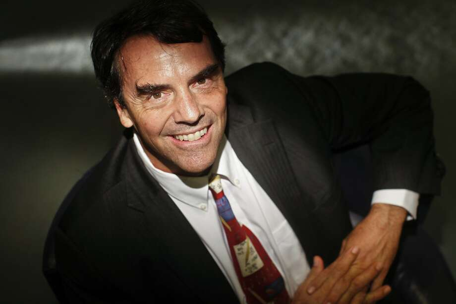 """I tell my companies, 'Don't go public,' "" venture capitalist Tim Draper says. Photo: Russell Yip, The Chronicle"
