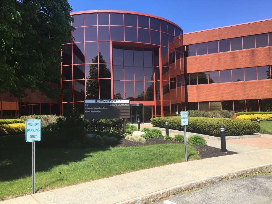 This office building, known as 3 Winners Circle, was acquired as part of a $57 million purchase of more than two dozen buildings from Beltrone Group by The Rosenblum Cos.