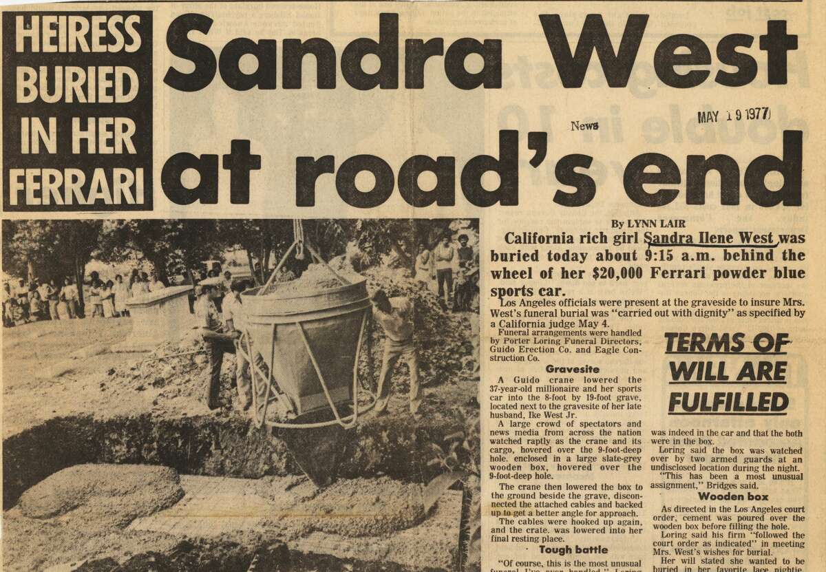 This Express-News story was published on May 19, 1977, when
