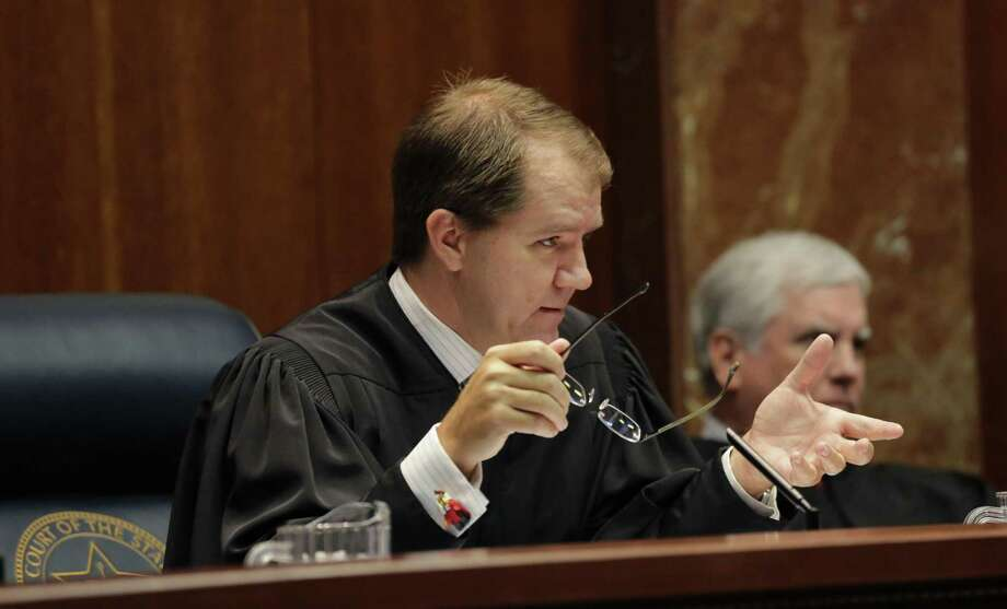 Texas Supreme Court Justice Don R. Willett is a prolific Twitter user whose wit has earned him more than 96,000 followers. Photo: Eric Gay /Associated Press / Copyright 2016 The Associated Press. All rights reserved. This material may not be published, broadcast, rewritten or redistribu