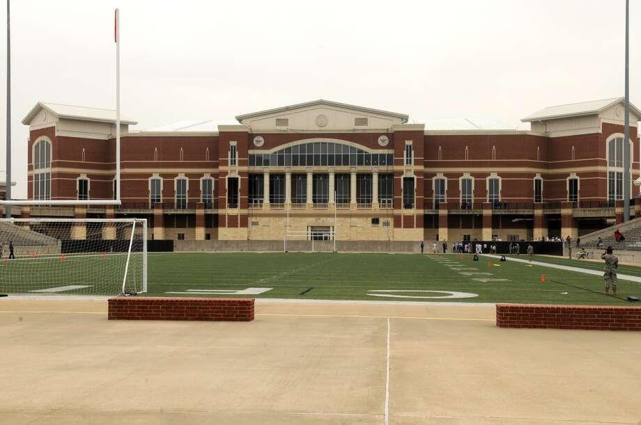 Hello, Cy-Fair FCU Stadium under a new naming