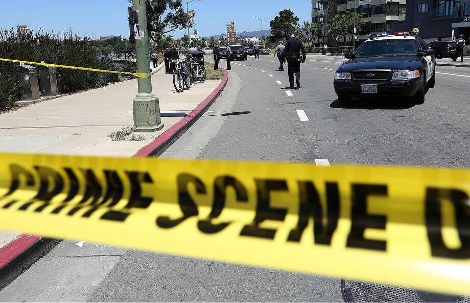 A man was wounded Thursday in a shooting near Golden Gate Park. Photo: JANE TYSKA, Associated Press