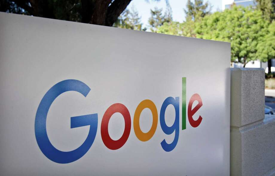 FILE - This Oct. 20, 2015, file photo, shows a sign outside Google headquarters in Mountain View, Calif. Google unveils its vision for phones, cars, virtual reality and more during its annual conference for software developers, beginning Wednesday, May 18, 2016. (AP Photo/Marcio Jose Sanchez, File) Photo: Marcio Jose Sanchez, STF / Copyright 2016 The Associated Press. All rights reserved. This material may not be published, broadcast, rewritten or redistribu