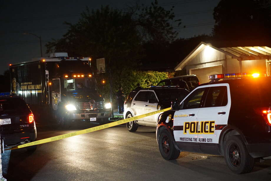 A woman is dead and her husband is in critical condition after police say one shot the other Wednesday night on the Southwest Side.It is not immediately clear who shot who as police are still investigating the shooting, which they responded to at about 9:30 p.m. in the 7000 block of Myrtle Valley, according to San Antonio Police. Photo: Jacob Beltran