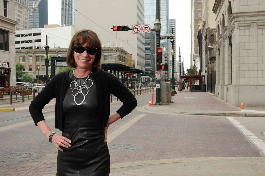 Former New York City Transportation Commissioner Janette Sadik-Khan in downtown Houston Wednesday May 18,2016(Dave Rossman Photo) Photo: Dave Rossman, For The Chronicle / Dave Rossman