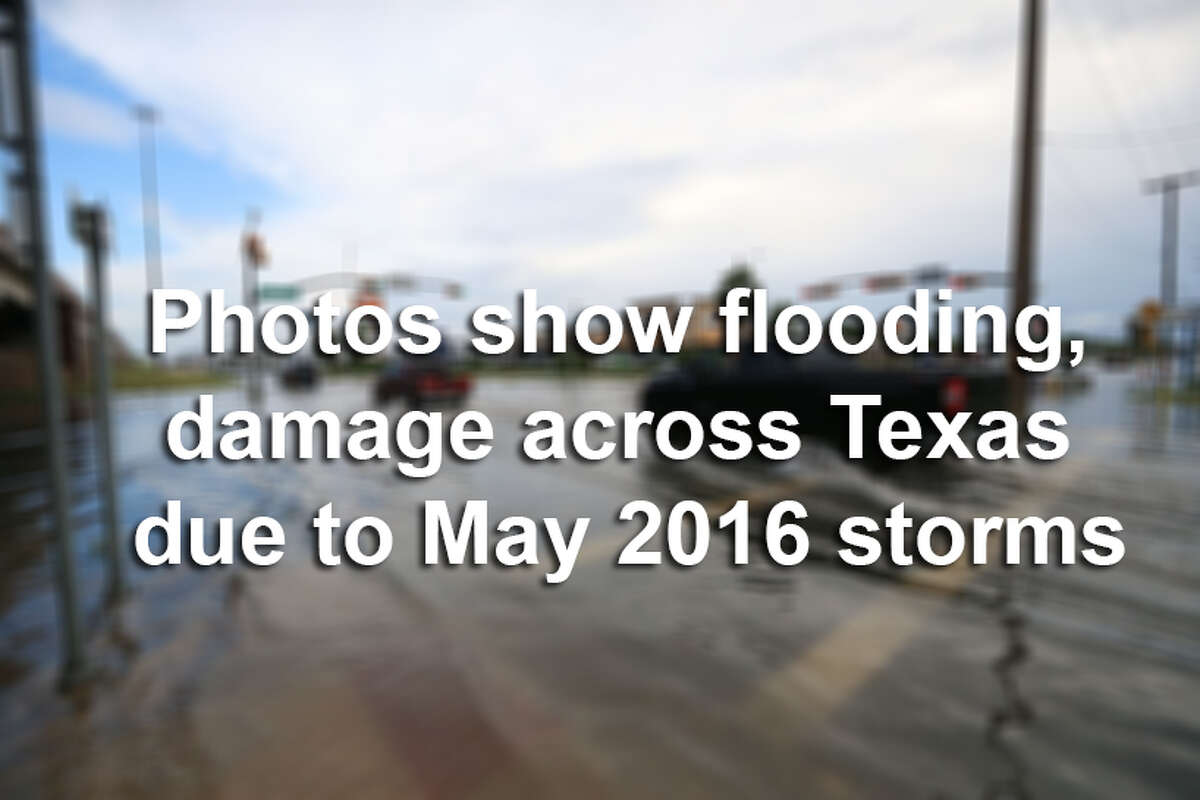 Click through the gallery to see photos from the damage left behind after storms surged through Texas in May 2016.
